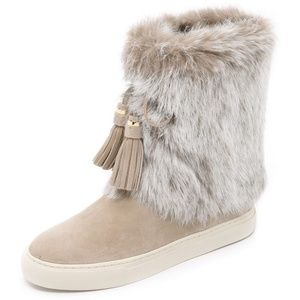 Tory Burch Angelica Fur Boots